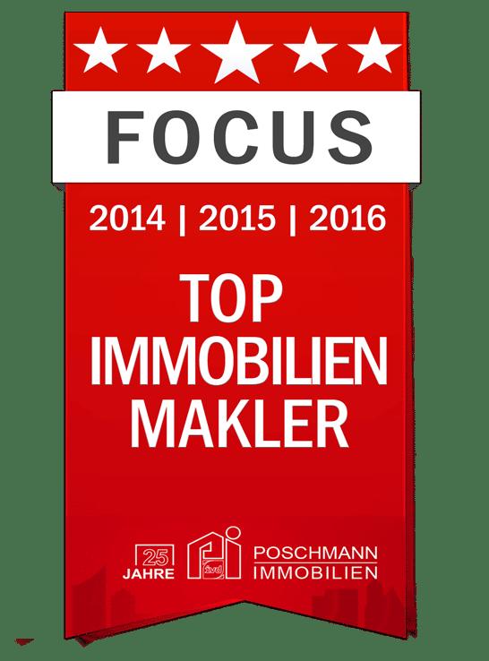 Poschmann Immobilien - Focus Top-Makler 2016