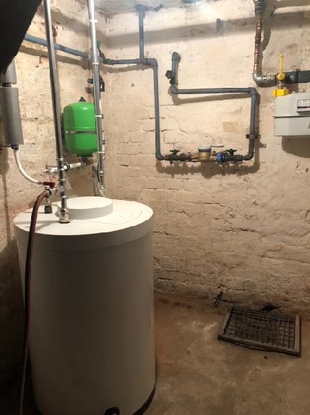 Warmwasseranlage